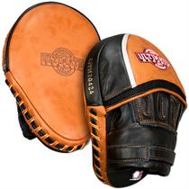 Panther Curved Leather Mitts